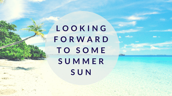 Looking forward to summer sign